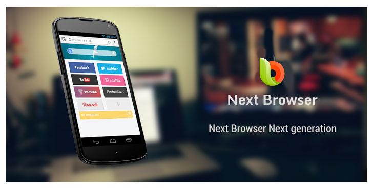دانلود Next Browser 1.0 - مرورگر وب جدید اندروید