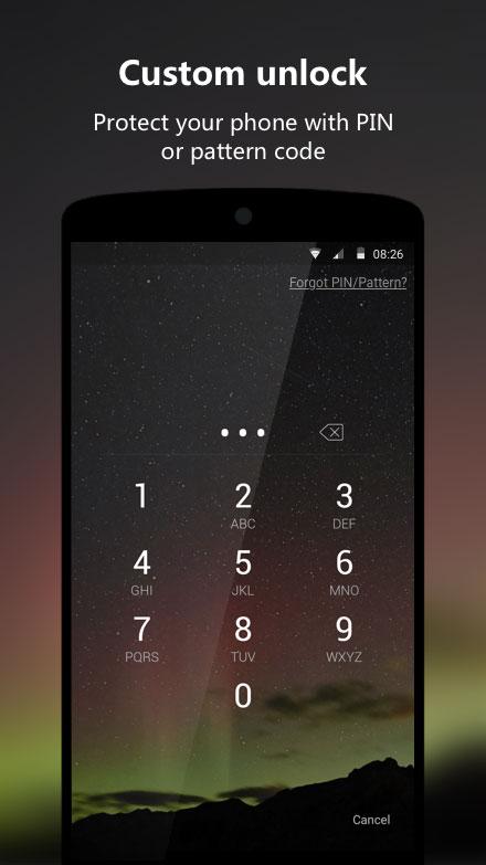 Next Lock Screen - برنامه اندروید