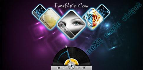 Next Music Widget 1.2 – ویجت های پخش موزیک اندروید