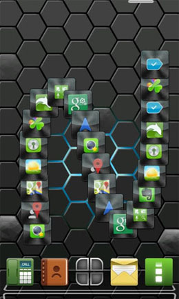 Next honeycomb live wallpaper Android