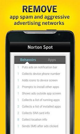 Norton Spot ad detector Android