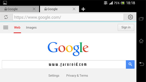 Now Browser Pro Android - وب بروزر سریع اندروید