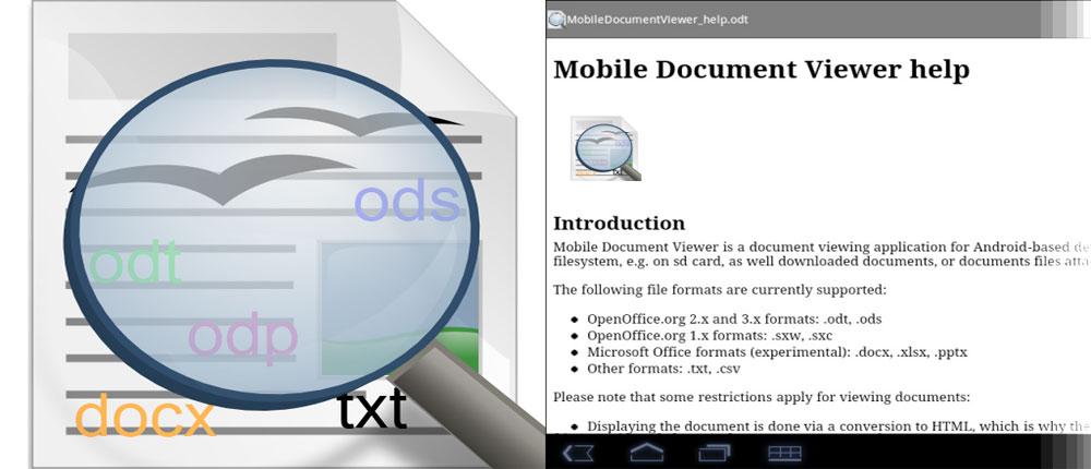 دانلود Office Documents Viewer - مشاهده آفیس اندروید