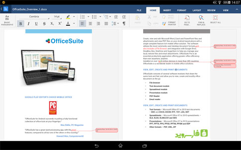 OfficeSuite 8 + PDF to Word Android