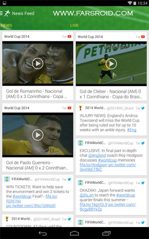 Download Onefootball Brasil - World Cup Android Apk - Google Play