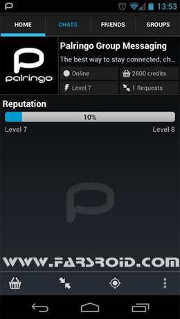 Palringo Group Messenger Android