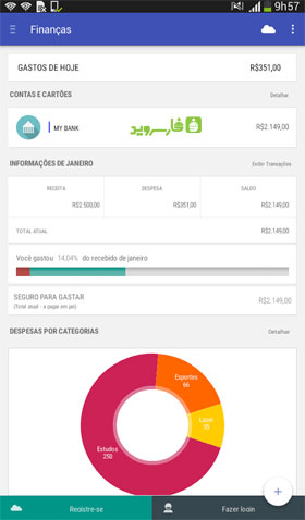 Personal Finances Android