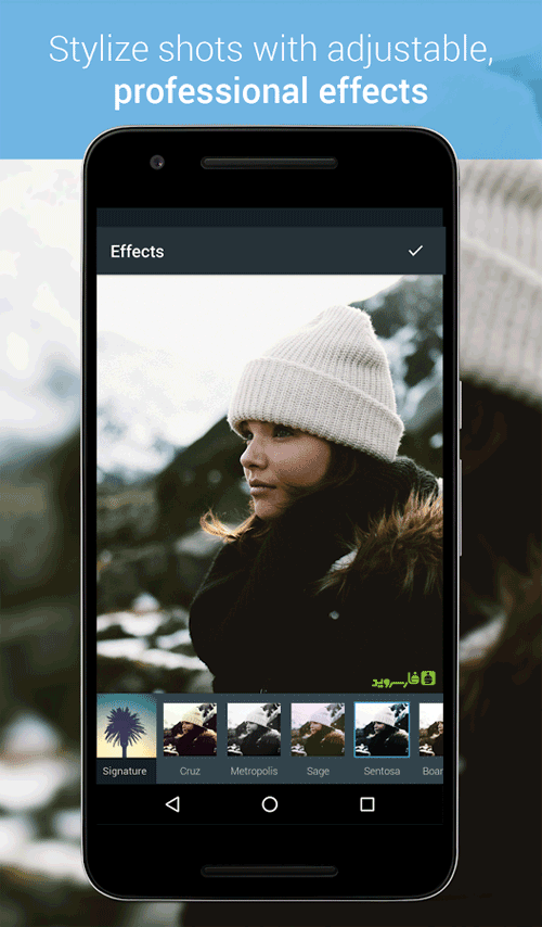 Photo Editor by Aviary Android برنامه اندروید