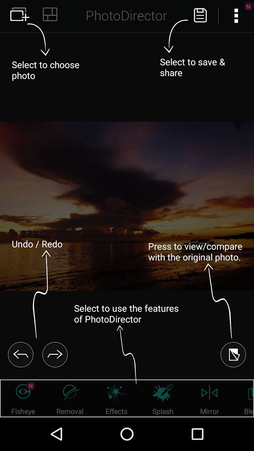 PhotoDirector - Photo Editor Android
