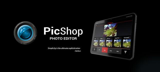 دانلود PicShop Photo Editor - ویرایشگر عکس پیک شاپ اندروید !