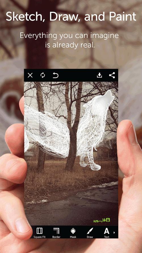 دانلود PicsArt Photo Studio & Collage 11.1.0 - استودیو عکس قدرتمند اندروید + پکیج فونت فارسی + مود