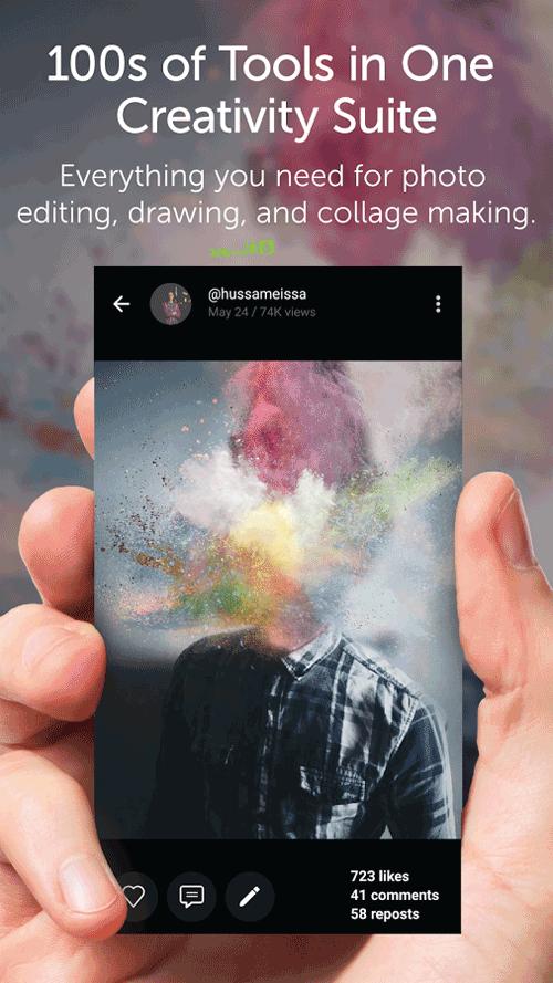 PicsArt - Photo Studio Android اندروید