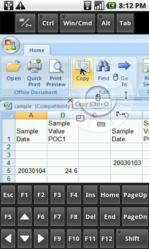 دانلود PocketCloud Remote Desktop Pro 1.4.217 – برنامه کنترل ویندوز با اندروید