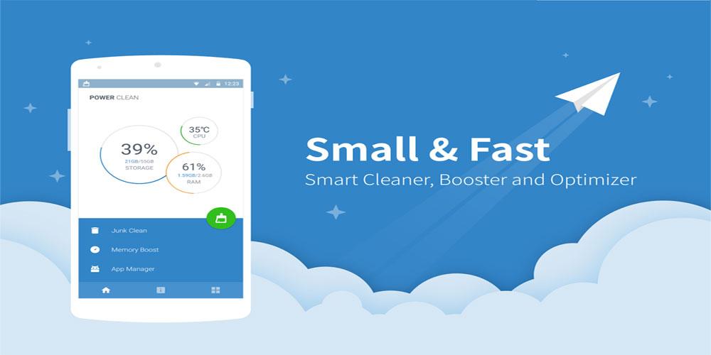 دانلود Power Clean - Optimize Cleaner - بهینه ساز اندروید!