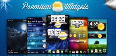 Premium Widgets & Weather Android
