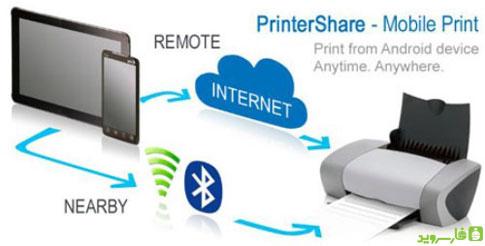 دانلود PrinterShare™ Mobile Print - برنامه پرینت اسناد اندروید!