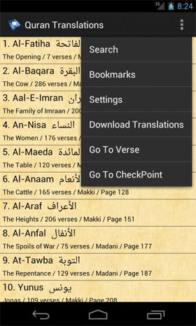 Quran Translations Android