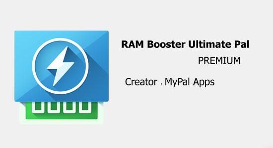 دانلود RAM Booster Ultimate Pal - افزایش رَم اندروید!