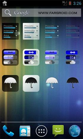 Rain Alarm OSM Pro Android - نرم افزار اندروید