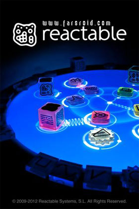 Reactable Mobile - نرم افزار اندروید