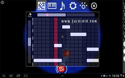 Reactable Mobile Android - برنامه موزیک سازی اندروید