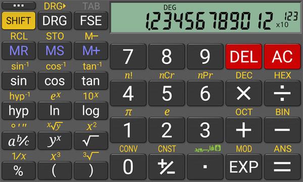 دانلود RealCalc Plus - ماشین حساب کاربردی و همه کاره اندروید