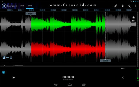 RecForge II – Audio Recorder Android - برنامه اندروید