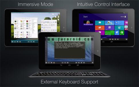 Remotix VNC & RDP Android - برنامه ریموت کنترل اندروید