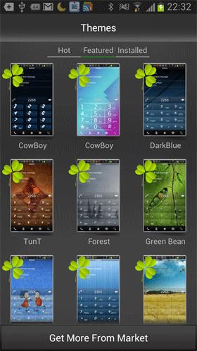 نرم افزار دیالر اندروید - RocketDial Dialer&Contacts Pro Android