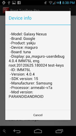Root Toolbox PRO Android