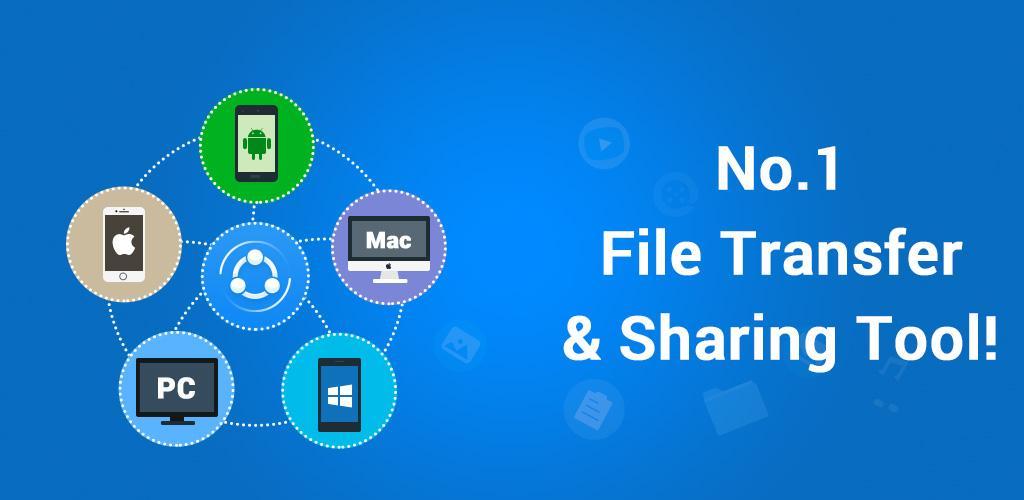 دانلود SHAREit - نرم افزار عالی انتقال و دریافت سریع فایل اندروید!