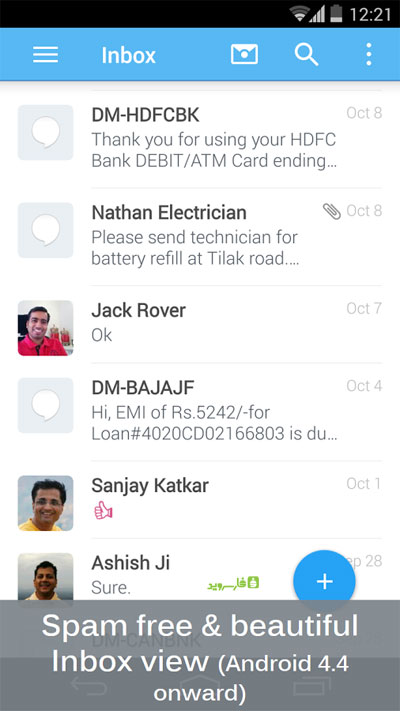 SMS Blocker Clean Inbox Premium Android