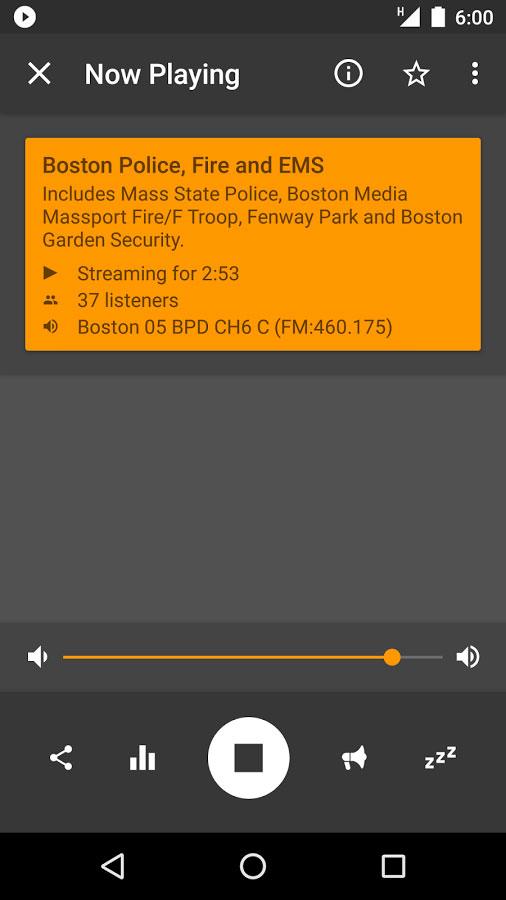Scanner Radio Pro Android - برنامه اندروید