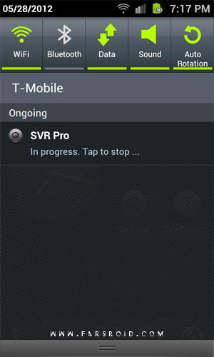 Secret Video Recorder Pro Android - برنامه فیلمبرداری اندروید