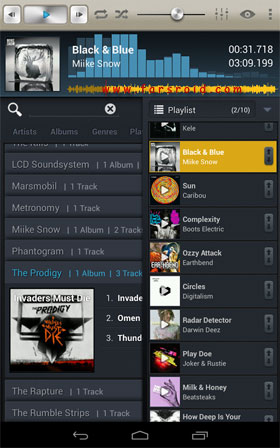 Select! Music Player Pro Android - پلیر اندروید