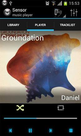 دانلود Sensor music player 2.5331 – موزیک پلیر جالب اندروید
