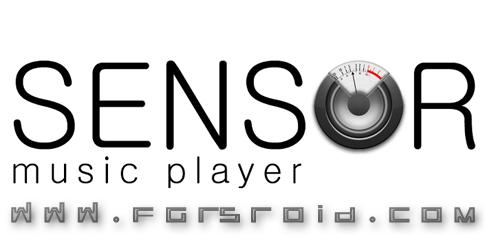 دانلود Sensor music player - موزیک پلیر جالب اندروید