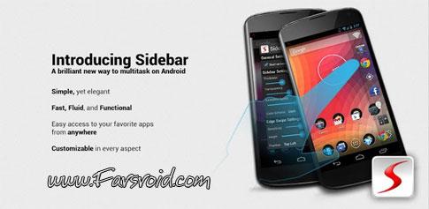 Sidebar Pro - تولبار کاربردی و زیبای اندروید