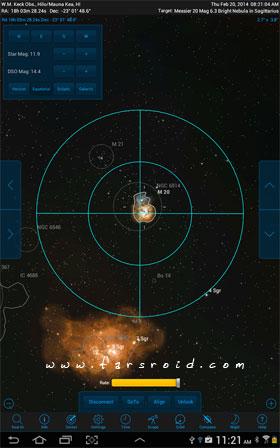 SkySafari 4 Pro - برنامه اندروید رایگان