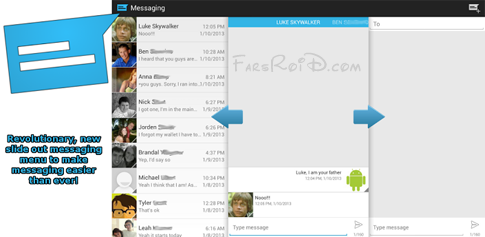 Sliding Messaging Pro Android