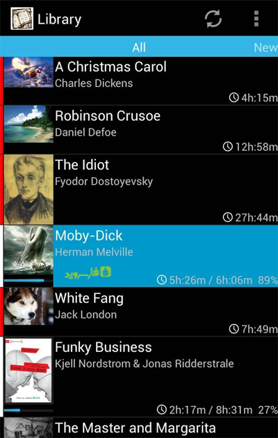 Smart AudioBook Player Android