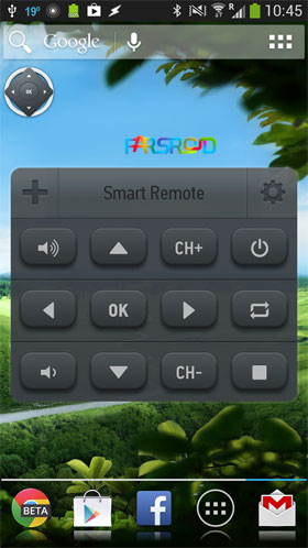 Smart IR Remote - Samsung/HTC Android اندروید
