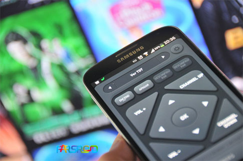 دانلود Smart IR Remote - Samsung/HTC - کنترل تلویزیون در اندروید
