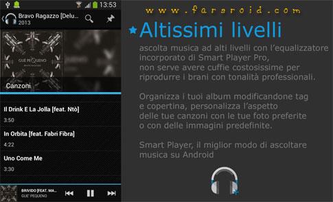 Smart Player Pro Android - برنامه پلیر رایگان اندروید