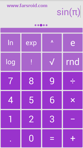 Solo Scientific Calculator Android برنامه اندروید