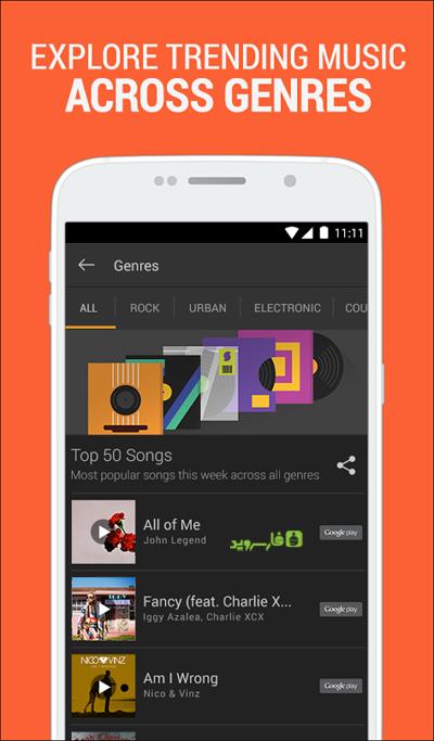 SoundHound Music Search 3 دانلود SoundHound Music Search 7.1.0 – برنامه جذاب و جالب و خوب شناسایی موزیک آندروید !