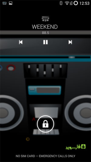 Spirit2: Real FM Radio 4 AOSP Android - نرم افزار اندروید