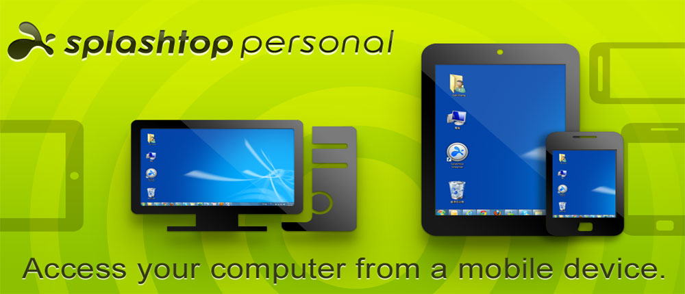 دانلود برنامه توشه برای ویندوز Splashtop remote desktop hd android