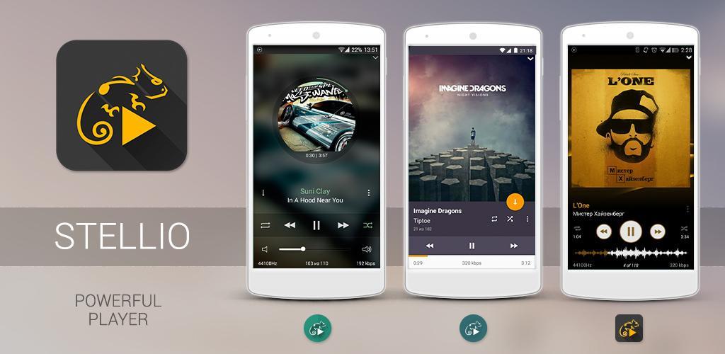 دانلود Stellio Music Player - موزیک پلیر بی نظیر اندروید + Unlocker