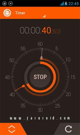 Stopwatch Timer Android - برنامه اندروید - جدید